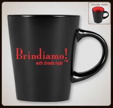 Brindiamo! Black Mug