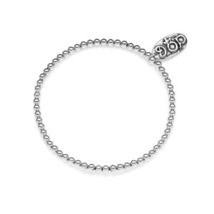 Bracelet Base in Silver Mini Boule